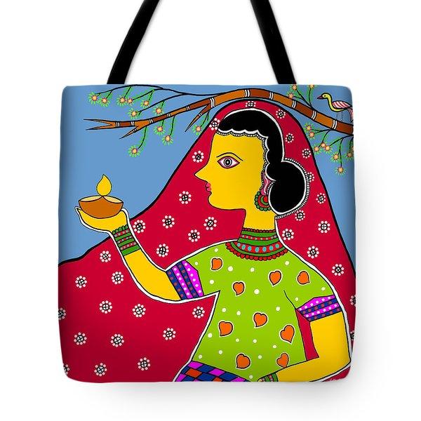 Thamasoma Jyothirgamaya Tote Bag