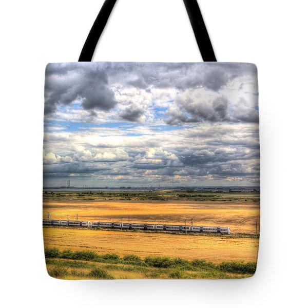 Thames Estuary View Tote Bag