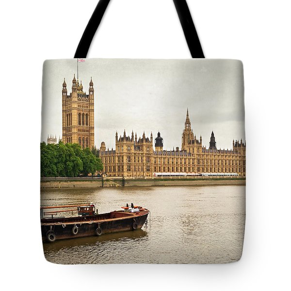 Tote Bag featuring the photograph Thames by Keith Armstrong