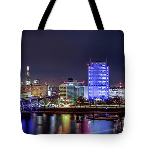 Thames Panorama Tote Bag