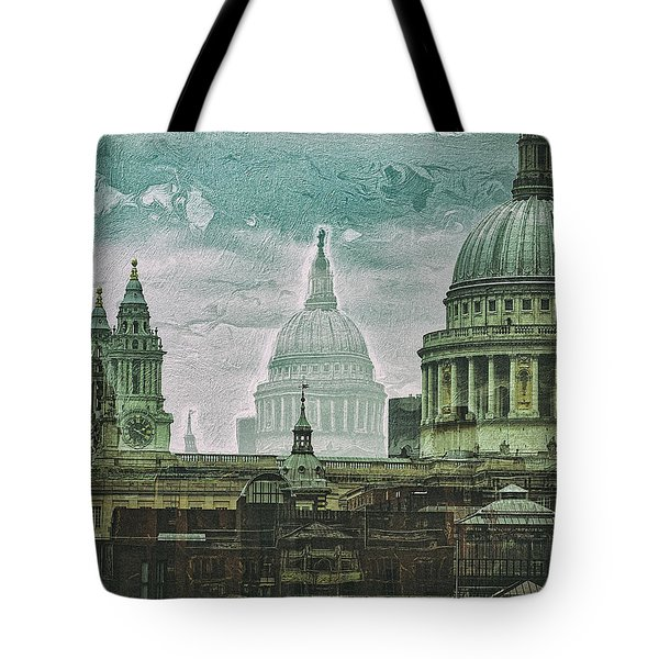 Thamesscape 2 -  Ghosts Of London Tote Bag