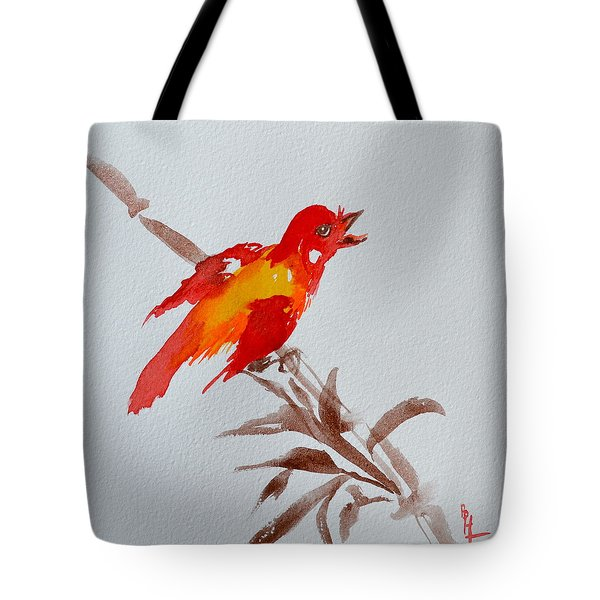 Thank You Bird Tote Bag