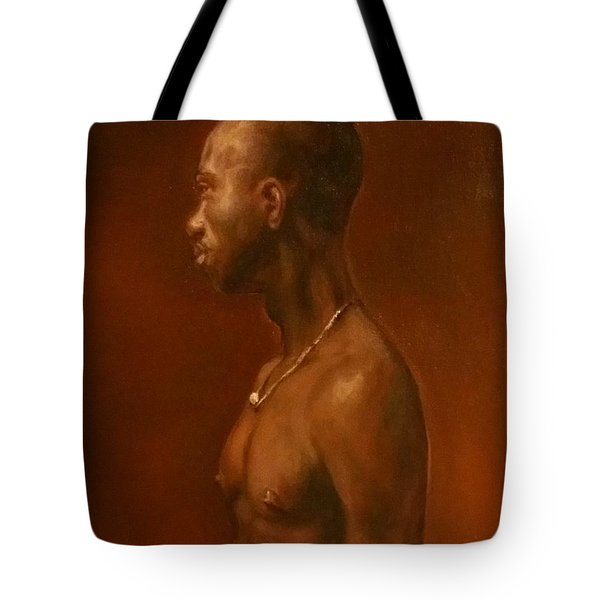 Tote Bag featuring the painting Vincent After Jacob Collins by J Reynolds Dail