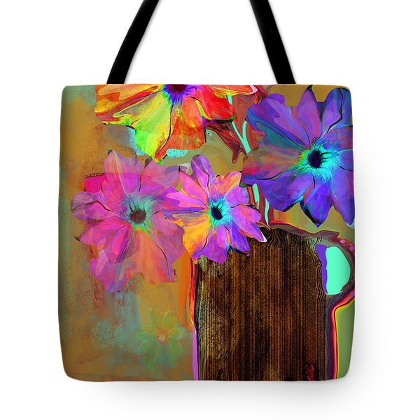 Thank You Flowers Tote Bag
