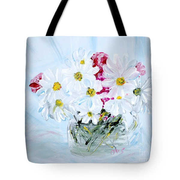 Thank You. Thank You - Je Vous Remerci Collection Of 2 Paintings Tote Bag