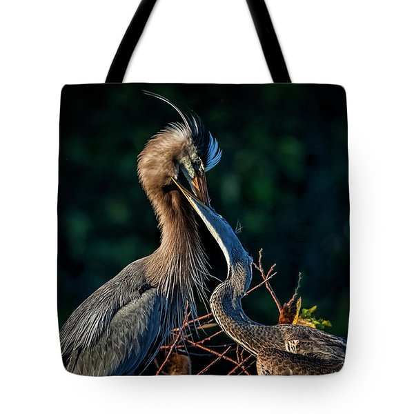 Thanks For Dinner, Mom Tote Bag by Cyndy Doty