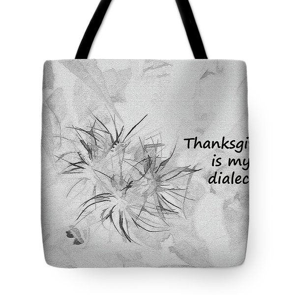 Thanks Giving Tote Bag
