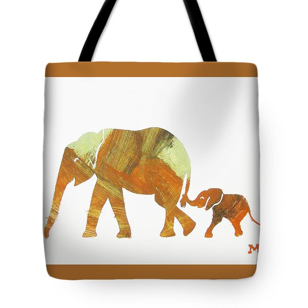 Tote Bag featuring the painting Thanks Mom by Candace Shrope