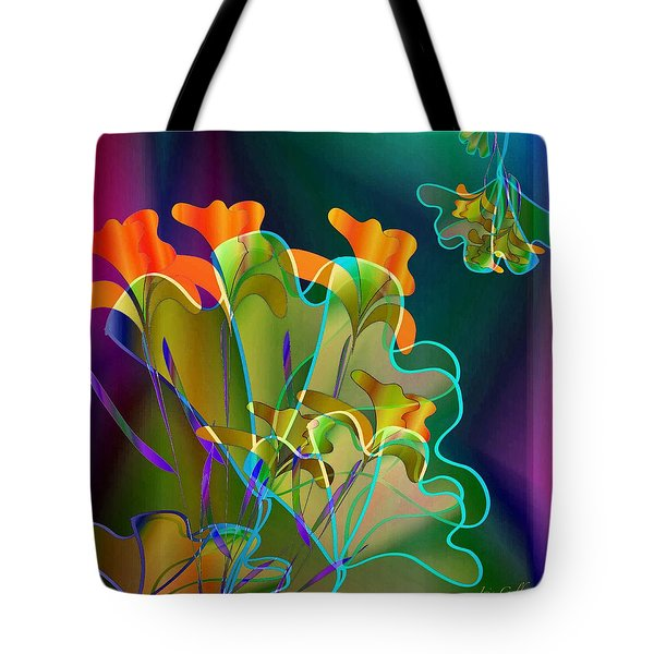 Thanksgiving Bouquet Tote Bag