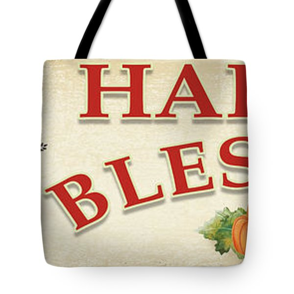 Tote Bag featuring the painting Thanksgiving-f by Jean Plout