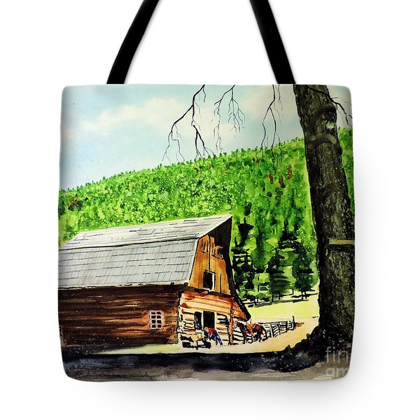 That Barn From That Movie Tote Bag