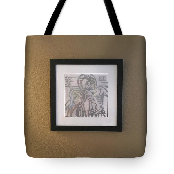 That Dark Hour Tote Bag by Daniel Hebard
