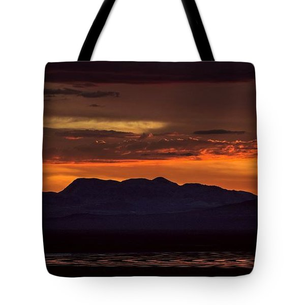 That Final Glimpse Into Abyss On The Brink Of Eruption Tote Bag
