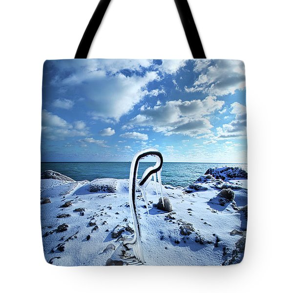 Tote Bag featuring the photograph That One Weird Thing by Phil Koch