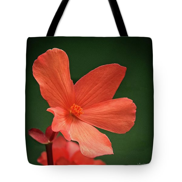 That Orange Flower Tote Bag