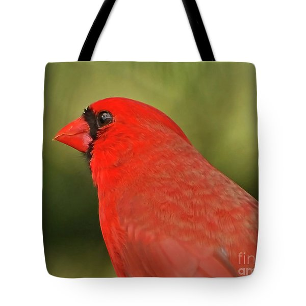 Tote Bag featuring the photograph That Smiling Face by Kerri Farley