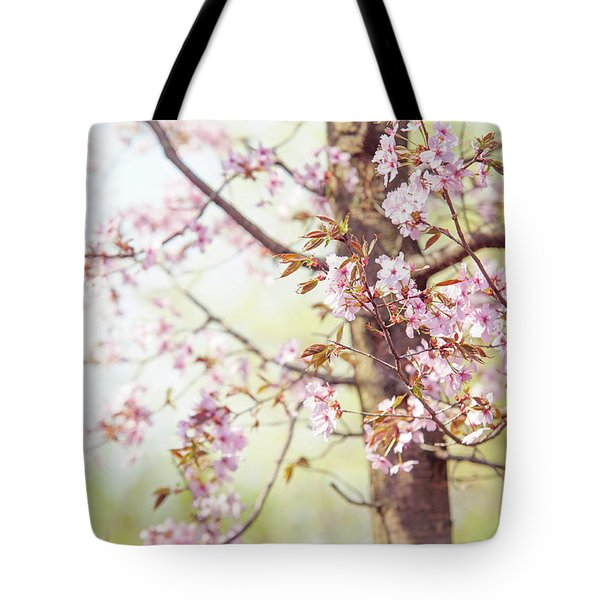 Tote Bag featuring the photograph That Tender Joyful Spring by Jenny Rainbow