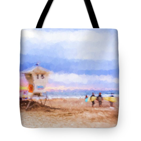 That Was Amazing Watercolor Tote Bag