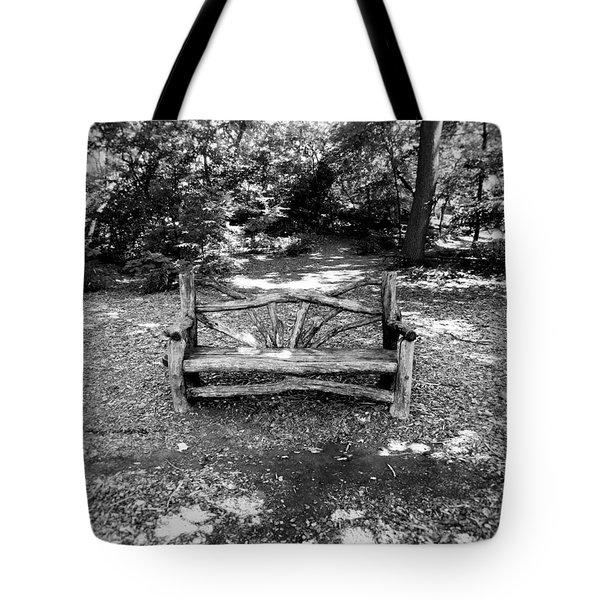 That Weird Bench One Tote Bag