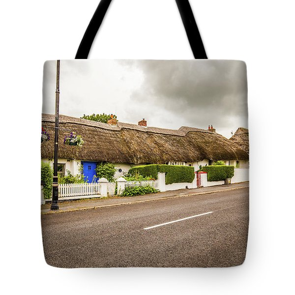 Thatched Cottages Tote Bag