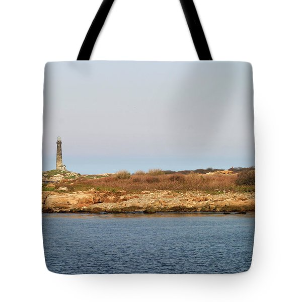 Thatcher Island Twin Lights Gloucester Massachusetts Tote Bag