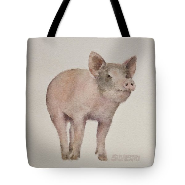That's Some Pig Tote Bag by Teresa Silvestri