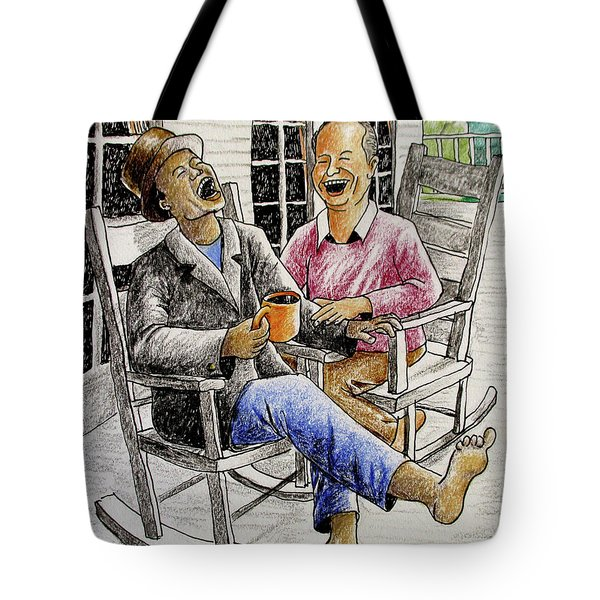That's Why God Made Rocking Chairs Tote Bag