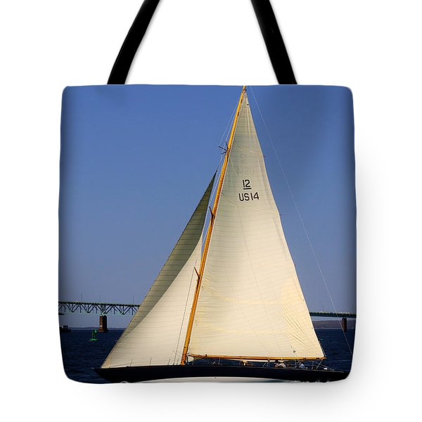 The 12 Meter Newport Tote Bag
