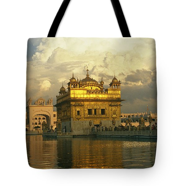 The 16-th Century Golden Temple Tote Bag