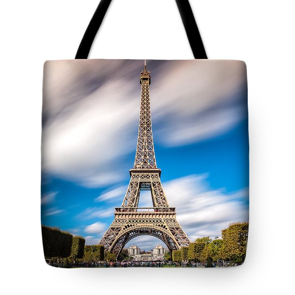 The 1665 Steps Climb Tote Bag