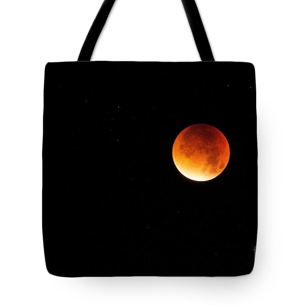 The 2015 Blood Moon  Tote Bag
