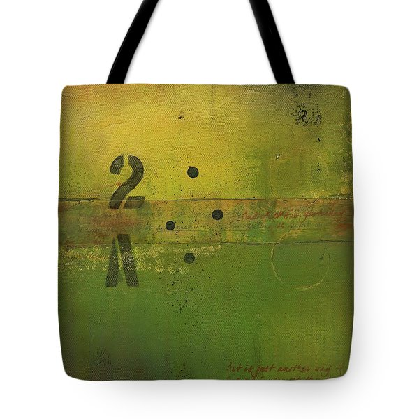 The 2a Tote Bag