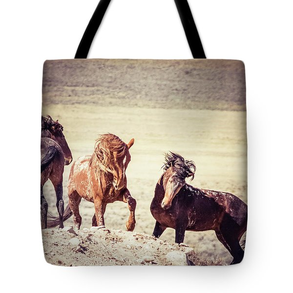 Tote Bag featuring the photograph The 3 Amigos by Mary Hone