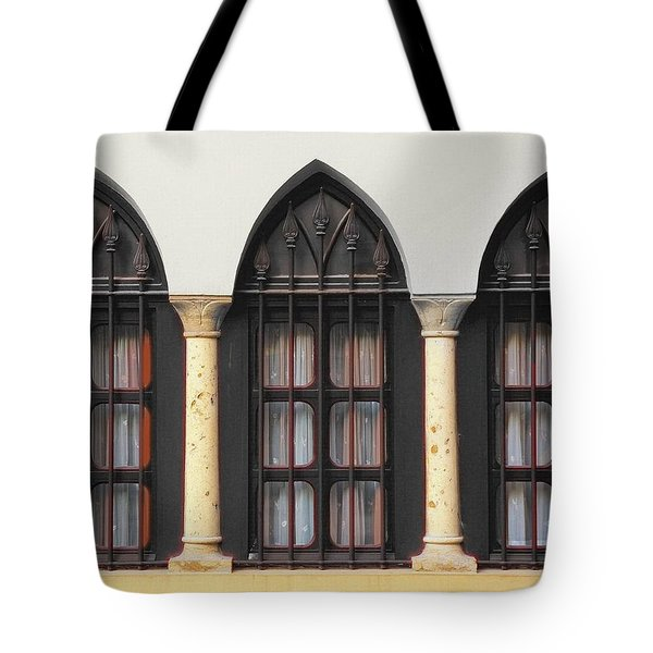 The 3 Windows Tote Bag by Digital Oil