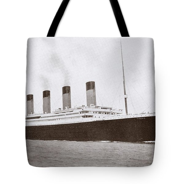 The 46,328 Tons Rms Titanic Of The Tote Bag