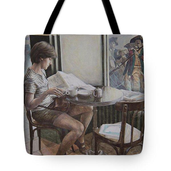 The 4th Of July Tote Bag by Yvonne Wright