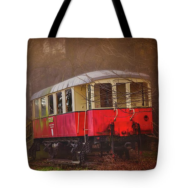 The Abandoned Tram In Salzburg Austria  Tote Bag