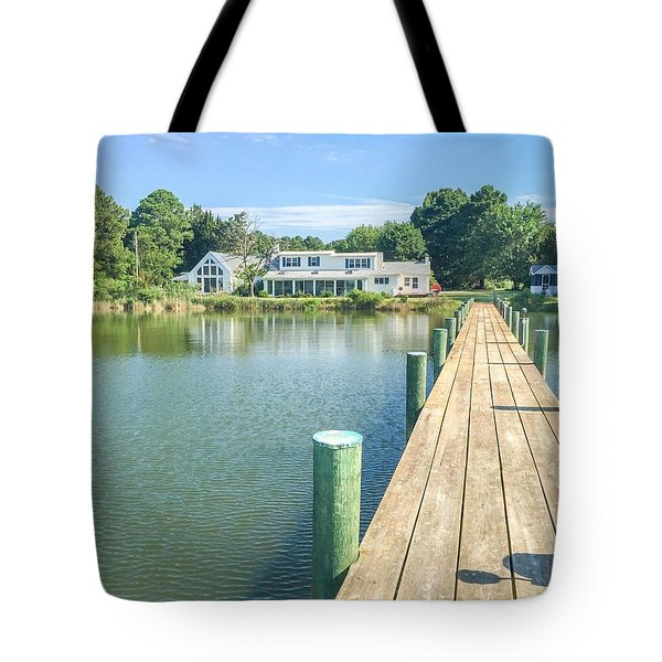 The Abbey On Cooper Point Tote Bag