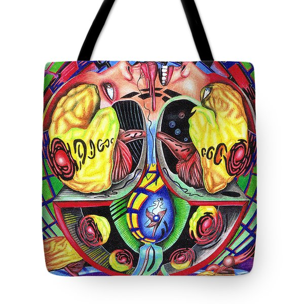 The Abduction Of A Foreign Mind Tote Bag