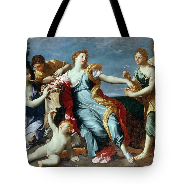 The Abduction Of Europe Tote Bag