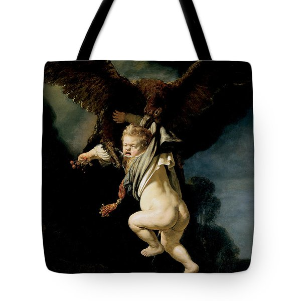 The Abduction Of Ganymede Tote Bag