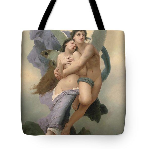 The Abduction Of Psyche Tote Bag