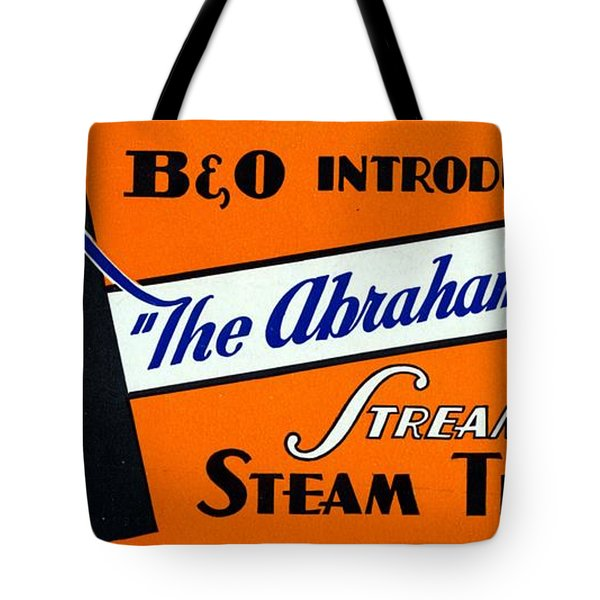 The Abraham Lincoln Tote Bag