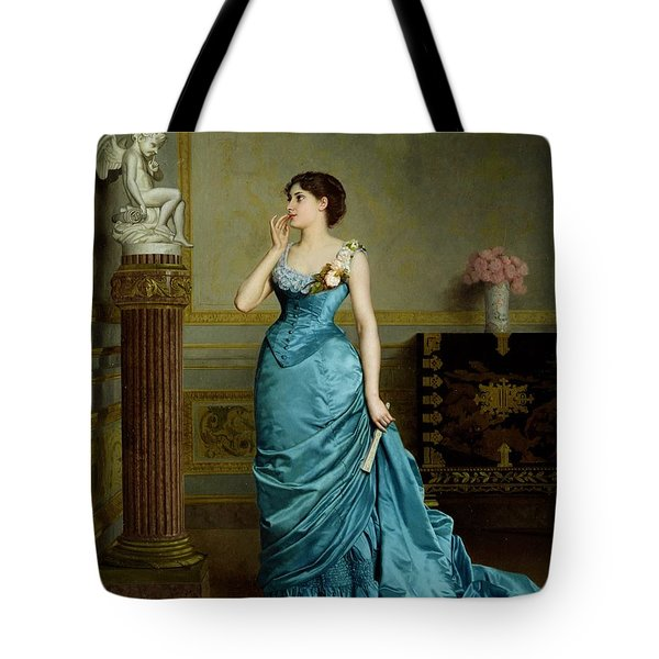 The Accomplice Tote Bag by Auguste Maurice Cabuzel