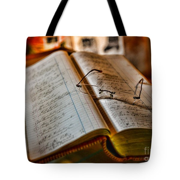 The Accountant's Ledger Tote Bag