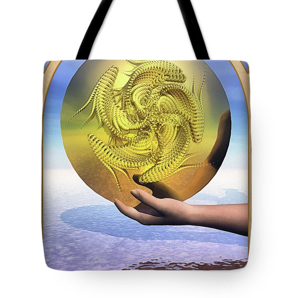 The Ace Of Coins Tote Bag by John Edwards