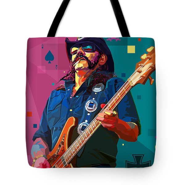The Ace Of Spades Tote Bag