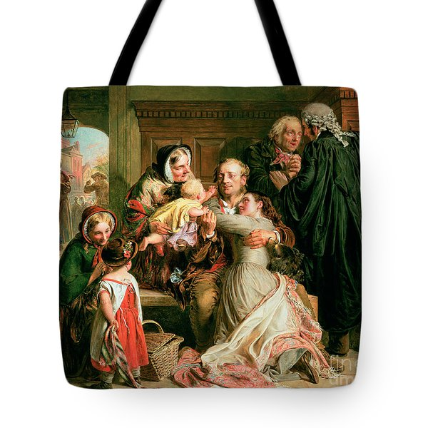 The Acquittal Tote Bag by Abraham Solomon