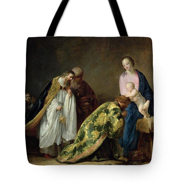 The Adoration Of The Magi Tote Bag by Pieter Fransz de Grebber