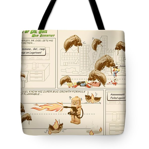 Tote Bag featuring the photograph The Adventures Of Dr Ogel by Mark Fuller
